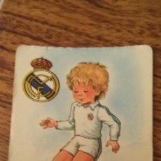 Coleccionismo Calendarios: CALENDARIO DE BOLSILLO 1985 REAL MADRID. Lote 40698692