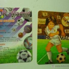 Coleccionismo Calendarios: LOTE CALENDARIOS R.MADRID-FUTBOL 1995-2012. Lote 40726000