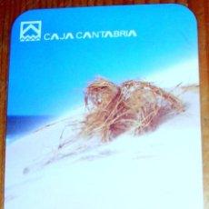 Coleccionismo Calendarios: CALENDARIO CAJA CANTABRIA AÑO 2001. Lote 40786972