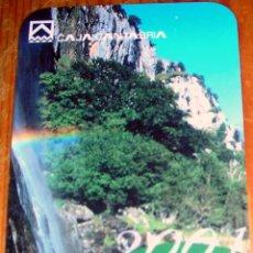 Coleccionismo Calendarios: CALENDARIO CAJA CANTABRIA AÑO 2001. Lote 40786975