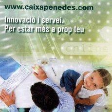 Coleccionismo Calendarios: CALENDARIO CAIXA PENEDES AÑO 2009. Lote 40832980