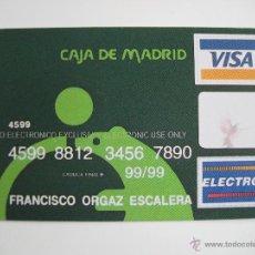 Coleccionismo Calendarios: CALENDARIO FOURNIER, CAJA DE MADRID, DE 1998. Lote 40860789