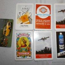 Coleccionismo Calendarios: LOTE DE CALENDARIOS FOURNIER AÑOS 80. Lote 40861415