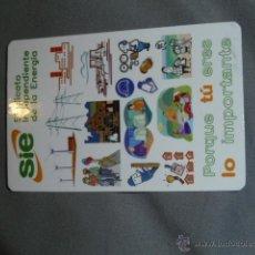 Coleccionismo Calendarios: CALENDARIO DE BOLSILLO TEMA POLITICA Y SINDICATOS. INDEPENDIENTE DE LA ENERGIA. IBERDROLA. 2007. Lote 145890684