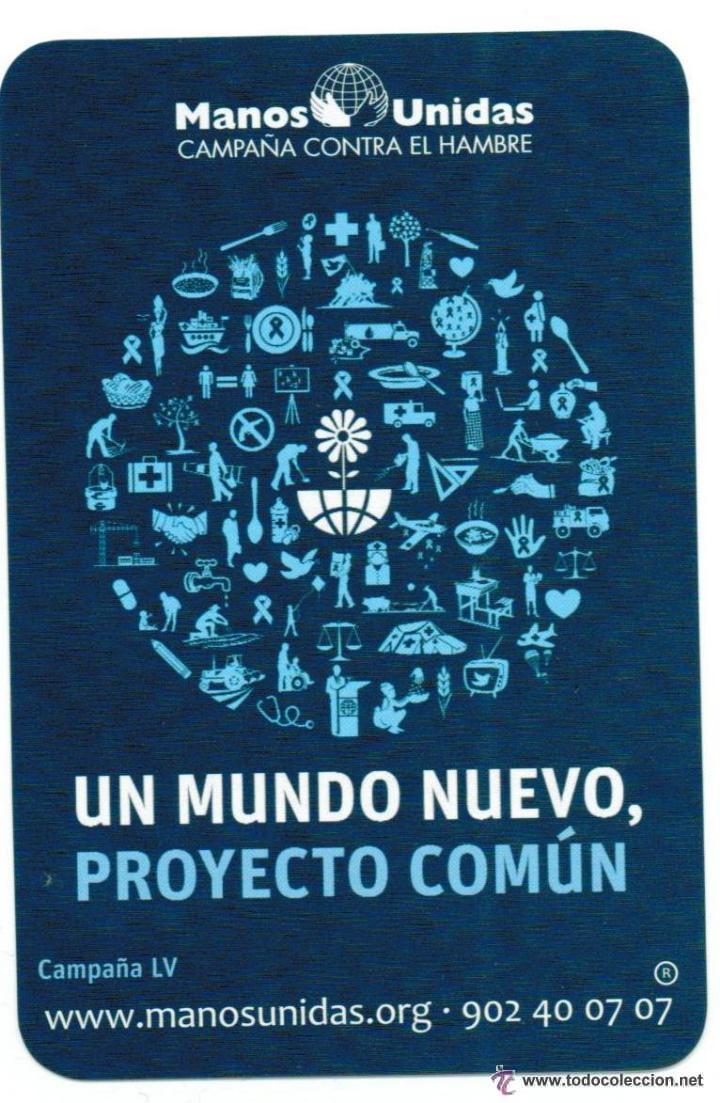 MANOS UNIDAS 2014 (Coleccionismo - Calendarios)
