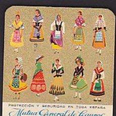 Coleccionismo Calendarios: CALENDARIO 1965 MUTUA GENERAL DE SEGUROS. Lote 41010248