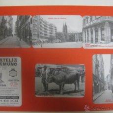 Coleccionismo Calendarios: LOTE 6 CALENDARIOS DIFERENTES BILBAO FILATELIA UNAMUNO 2008. Lote 116186932