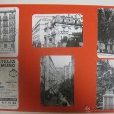 Coleccionismo Calendarios: LOTE 6 CALENDARIOS DIFERENTES BILBAO FILATELIA UNAMUNO 2009. Lote 172318680