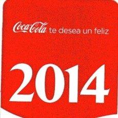 Coleccionismo Calendarios: CALENDARIO DE BEBIDA - COCA COLA - AÑO 2014. Lote 194596855