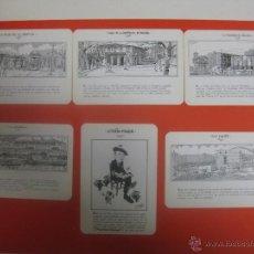 Coleccionismo Calendarios: BILBAO LOTE 6 CALENDARIOS DIFERENTES BILBAO FILATELIA UNAMUNO 1998. Lote 116186703