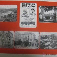 Coleccionismo Calendarios: BILBAO LOTE 6 CALENDARIOS DIFERENTES BILBAO FILATELIA UNAMUNO 2004. Lote 116186994
