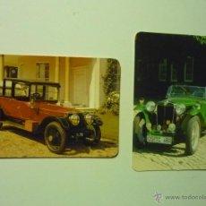 Coleccionismo Calendarios: LOTE CALENDARIOS COCHES ANTIGUOS 1997-1998. Lote 41361122