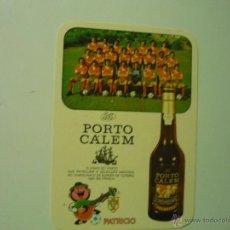 Coleccionismo Calendarios: CALENDARIO EXTRANJERO FUTBOL SELECCION PORTUGAL -LICOR PORTO 1984. Lote 41658824