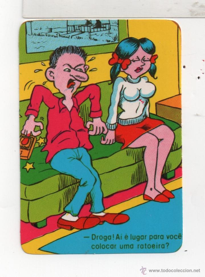0236 BONITO CALENDARIO EXTRANJERO DE HUMOR DEL AÑO 1989 VER BIEN FOTO (Coleccionismo - Calendarios)