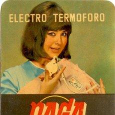 Coleccionismo Calendarios: CALENDARIO DAGA ELECTRO TERMOFORO 1968. Lote 41870273