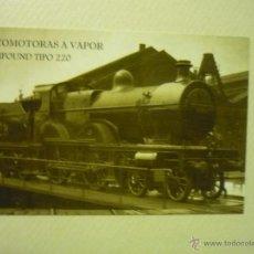 Coleccionismo Calendarios: CALENDARIO FERROCARRIL 2010. Lote 41925896