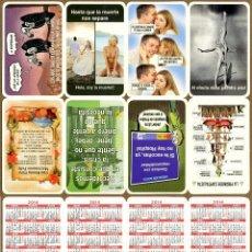 Coleccionismo Calendarios: CALENDARIOS BOLSILLO TT - TEMATICOS 2014. Lote 42017856