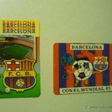 Coleccionismo Calendarios: LOTE CALENDARIOS FUTBOL BARCELONA 1982-1998. Lote 42162117