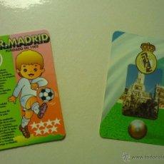 Coleccionismo Calendarios: LOTE CALENDARIOS REAL MADRID .-1995-1996. Lote 42300981