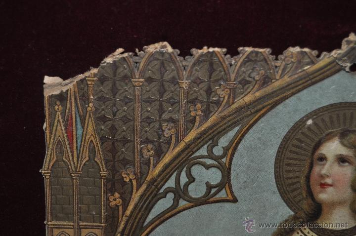 Coleccionismo Calendarios: CALENDARIO TROQUELADO DE PRINCIPIOS DEL SIGLO XX - Foto 2 - 42323979