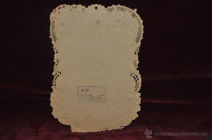 Coleccionismo Calendarios: CALENDARIO TROQUELADO DE PRINCIPIOS DEL SIGLO XX - Foto 5 - 42324158