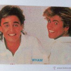 Coleccionismo Calendarios: CALENDARIO PORTUGAL 1987 WHAM. Lote 42582167