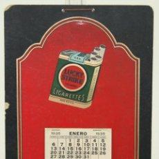 Coleccionismo Calendarios: CALENDARIO PUBLICITARIO DE 'LUCKY STRIKE CIGARETTES' - AÑO 1935 - COMPLETO. Lote 42613176