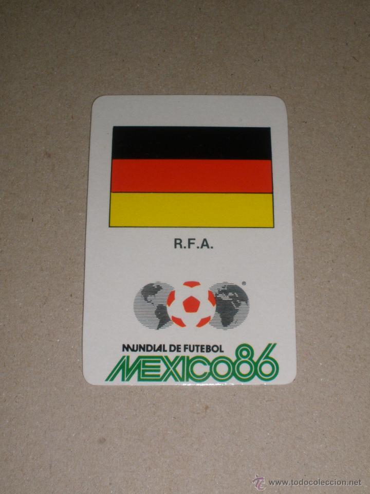 Calendario 1978 Mexico.Calendario Portugal 1987 Mundial De Futbol Mexico 86 Bandera Alemania