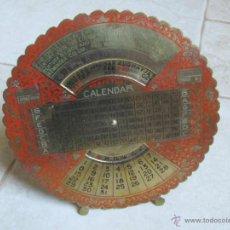 Coleccionismo Calendarios: CALENDARIO PERPETUO AÑOS 1700-2000. Lote 42695028