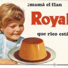 Coleccionismo Calendarios: 6827- CALENDARIO 1970- FLAN ROYAL. Lote 42741726
