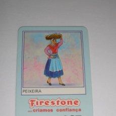 Collectionnisme Calendriers: CALENDARIO EXTRANJERO 1987 - FIRESTONE. PEIXEIRA. NEUMATICOS. COCHES. Lote 42851096