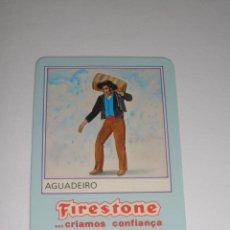 Collectionnisme Calendriers: CALENDARIO EXTRANJERO 1987 - FIRESTONE. AGUADEIRO. NEUMATICOS. COCHES. Lote 42851104