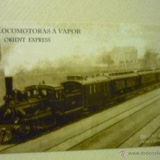 Coleccionismo Calendarios: CALENDARIO FERROCARRIL ORIENT EXPRESS-2010. Lote 42856189