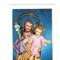 Coleccionismo Calendarios: CALENDARIO FOURNIER APOSTOLADO DE FATIMA Nº13 SAN JOSE 1965. Lote 42880372