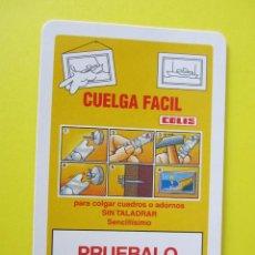 Coleccionismo Calendarios: CALENDARIO FOURNIER COLIS 2009. Lote 112374052