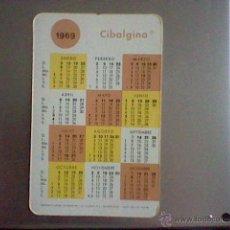 Coleccionismo Calendarios: CALENDARIO CIBALGINA 1969 1970 CIBA . Lote 43043492