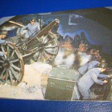 Coleccionismo Calendarios: CALENDARIO BOLSILLO MILITAR 1986 (1 GUERRA MUNDIAL - MUSEO DE CERA DE FATIMA / PORTUGAL) BIEN. Lote 43075005