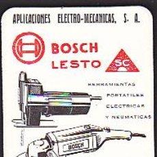 Coleccionismo Calendarios: CALENDARIO BOLSILLO APLICACIONES ELECTRO-MECANICAS 1968. Lote 43293352