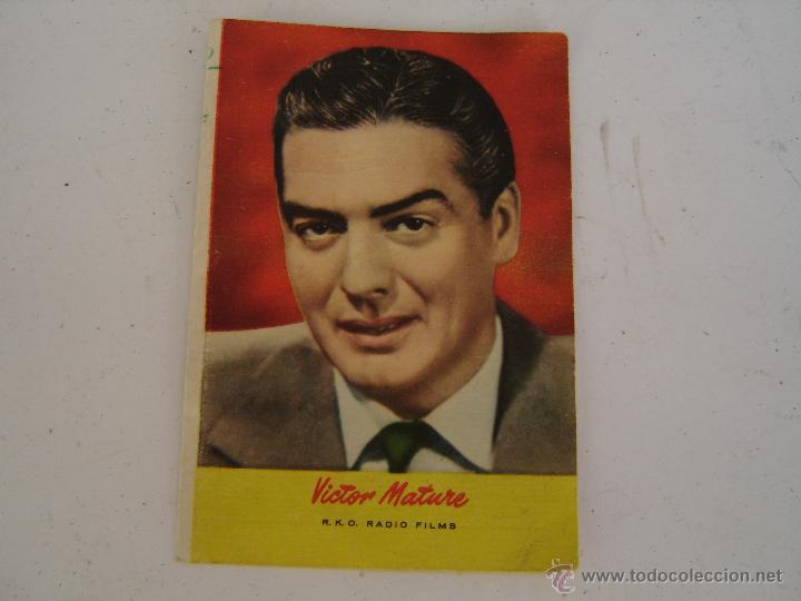 Calendario Mature.Calendario Bolsillo Foto De Victor Mature 1959 Sold