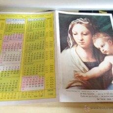Coleccionismo Calendarios: CALENDARIO ALMANAQUE BOLSILLO RELIGIOSO. Lote 43658537