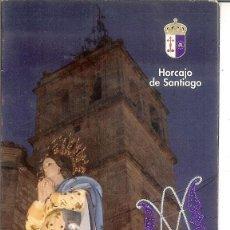 Coleccionismo Calendarios: CALENDARIO DE BOLSILLO DÍPTICO - 2010 - AYUNTAMIENTO DE HORCAJO DE SANTIAGO. Lote 43699862