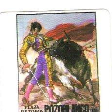 Coleccionismo Calendarios: CALENDARIO TAURINO CARTEL MUERTE PAQUIRRI.SERIE MP74 1987. Lote 43746160