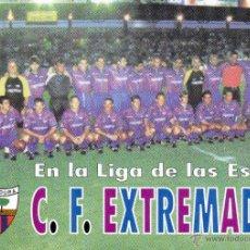 Coleccionismo Calendarios: CALENDARIO DE FUTBOL 1999 C.F. EXTREMADURA. Lote 43900422