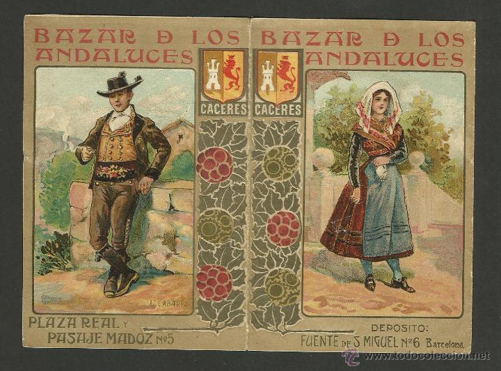 Calendario 1906.Bazar De Los Andaluces Plaza Real Barcelona Sold At