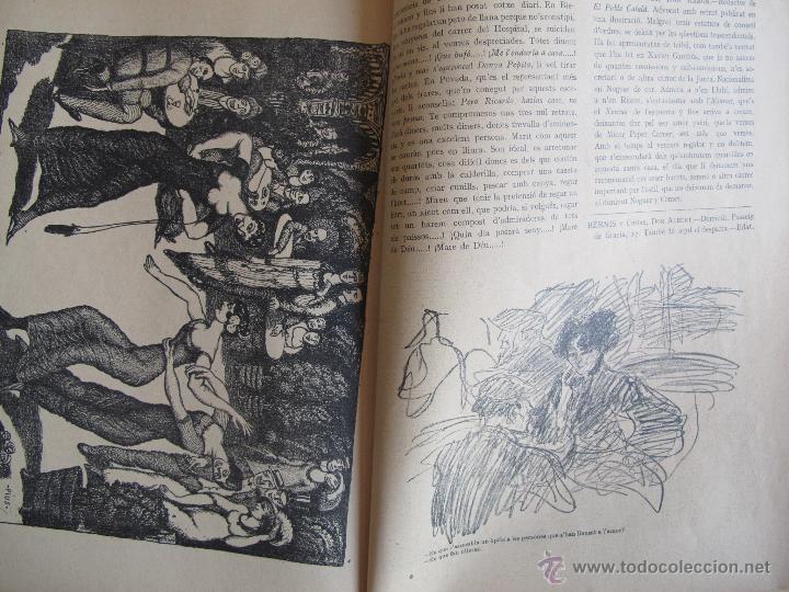Coleccionismo Calendarios: Calendario catalán PAPITU de 1912 - Foto 4 - 43930955