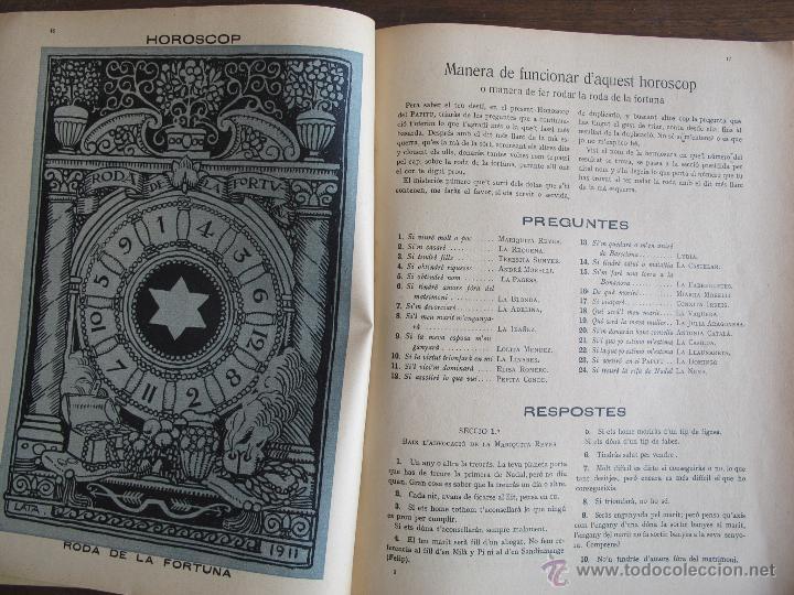 Coleccionismo Calendarios: Calendario catalán PAPITU de 1912 - Foto 6 - 43930955