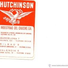 Coleccionismo Calendarios: CALENDARIO DE HUTCHINSON, AÑO 1973. Lote 43971699