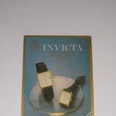 Coleccionismo Calendarios: CALENDARIO EXTRANJERO 1984 - RELOJ INVICTA. Lote 43995604