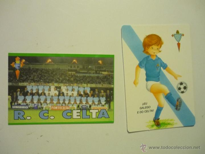 LOTE CALENDARIOS FUTBOL CELTA 2000-2002 (Coleccionismo - Calendarios)