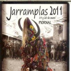 Coleccionismo Calendarios: CALENDARIO DE BOLSILLO - 2011 - AYUNTAMIENTO DE PIORNAL - FIESTA DEL JARRAMPLAS. Lote 195410433